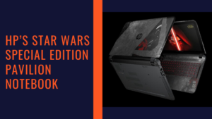 HP's Star Wars Special Edition Pavilion Notebook
